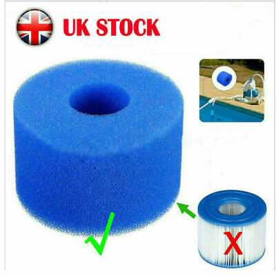 Lay In Clean Spa Hot Tub S1 Washable Bio Foam  VI LAZY Filter Fast Shipping