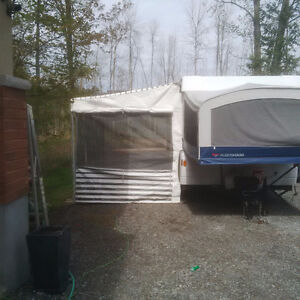 Coleman/Fleetwood Awning and Add-a-Room (Complete)