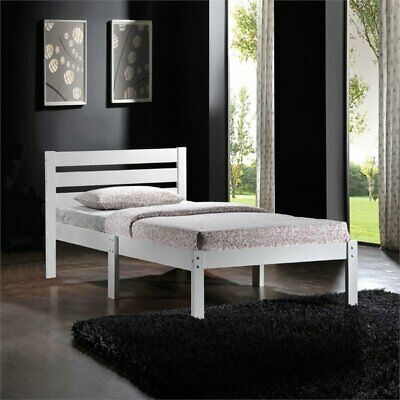 Bowery Hill Twin Bed in White