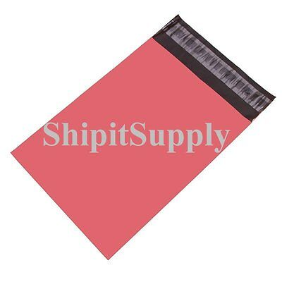 1-1000 6x9 Pink Color Poly Mailers Shipping Boutique Bags Fast Shipping