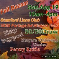 fall vendor show limited spaces avail