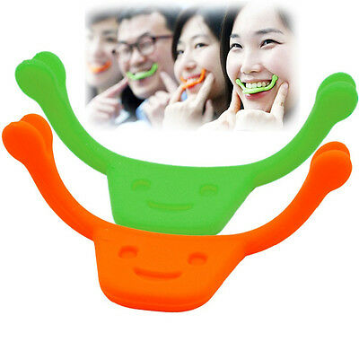 New Smile Braces Maker Mouth Lip Facial Muscle Exerciser Smile Training Tool