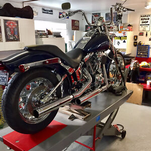 Moto Harley FXSTS