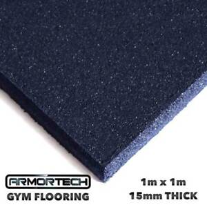 Armortech Commercial Gym Flooring 1x1m x 15mm