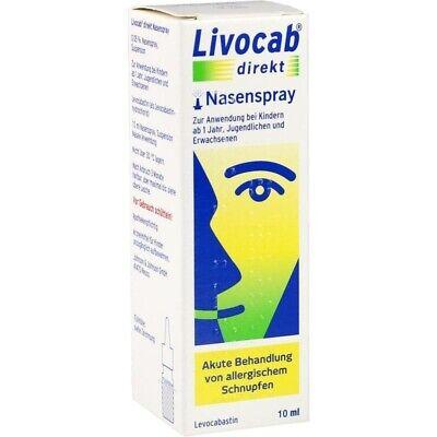 LIVOCAB direkt Nasenspray   10 ml   PZN13839164