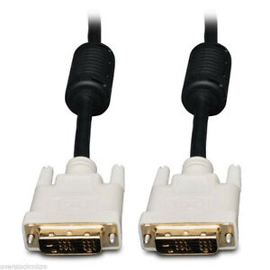 6 FT DVI-D MALE TO MALE DVI 18+1 COMPUTER MONITOR CABLE