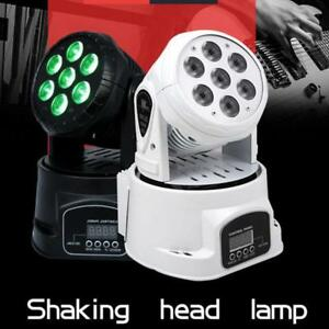 7 x 10W LED Mini Moving Head DJ Disco Stage Party Wedding Effect Lighting  (032002)