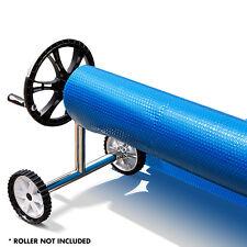 Aurelaqua Solar Swimming Pool Cover Outdoor Bubble Blanket Heater- 9.