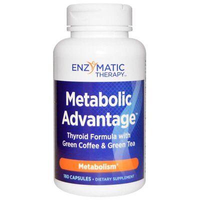 ENZYMATIC Remedial programme METABOLIC ADVANTAGE THYROID FORMULA GREEN COFFEE BEAN TEA