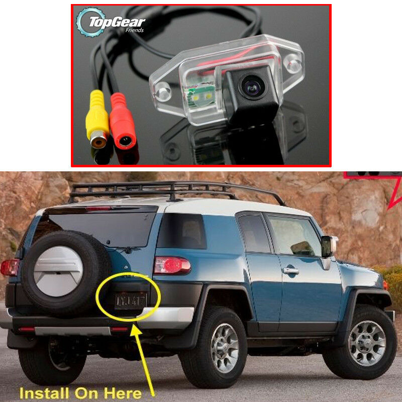 For TOYOTA FJ Cruiser Land LC 100 Car Parking Rear View Backup Reverse Camera
