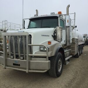 2013 WESTERN STAR TR, 120 BBL TANK 4 TO CHOOSE FROM