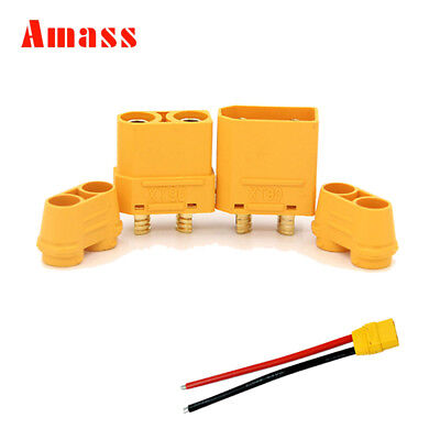 10Pairs Amass XT90H housing Plug Male Female Connector For RC Drone Lipo Battery