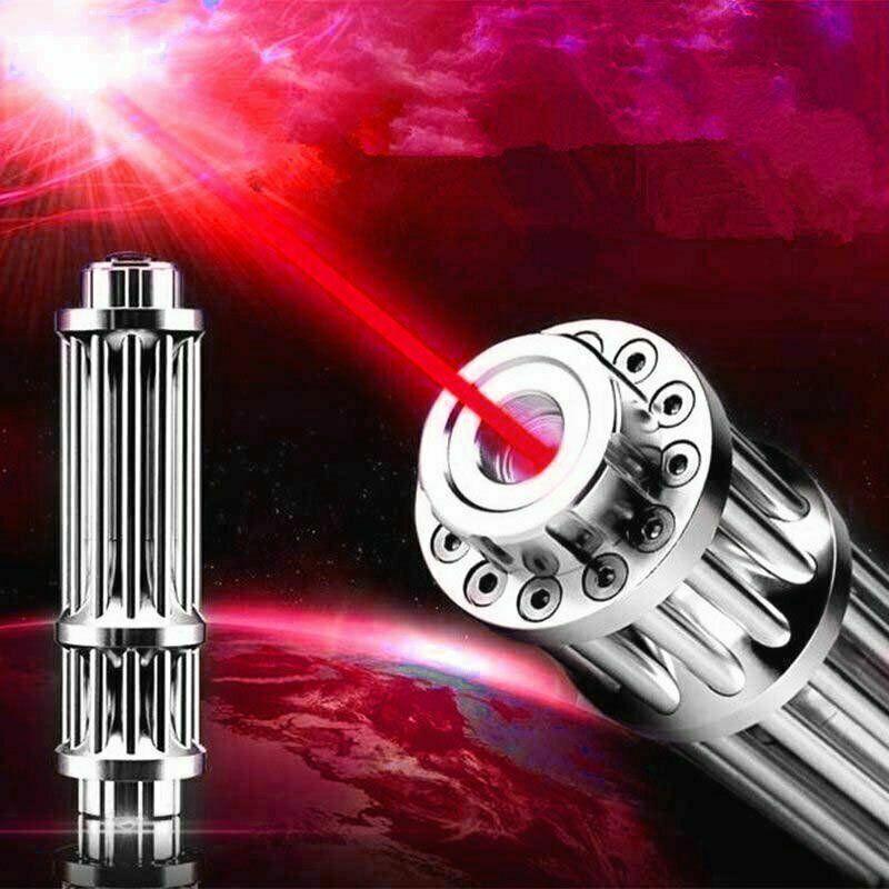 650nm <1MW Red Laser Pointer Pen Militar Burning Beam Light 20 Miles High Power