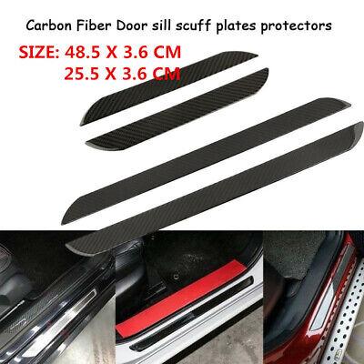 Car Sticker 3D Carbon Fiber Door Sill Plate Protector Parts Accessories for GMC Gmc Envoy Parts