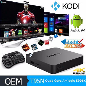 **T95N**Android Tv Box** with Kodi Ready**