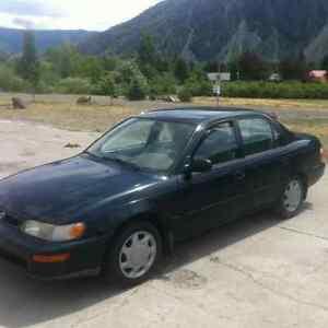 1997 Toyota Corolla 1200 obo