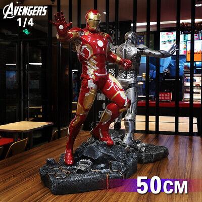 Marvel Avengers Iron man MK43 1/4 Resin statue 50CM figure birthday gala gift](Birthday Iron Man)