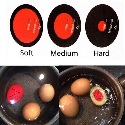 1pc Egg Perfect Color Changing Timer Yummy Soft Hard Boiled Eggs Cooking Kitchen