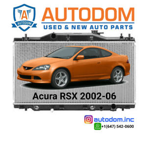 New Radiator and Condenser Acura RSX 2002-06