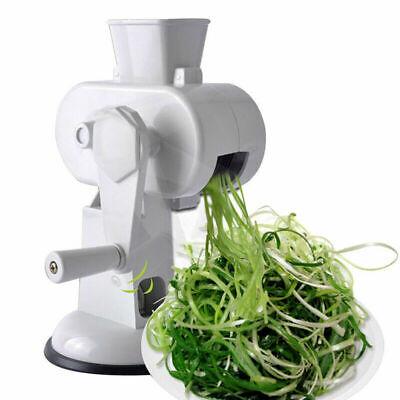 PARSSORY Green Onion Slicer Food Chopper Slice of Chili Turning Knob Adsorption