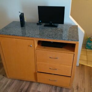 marble top T.V stand