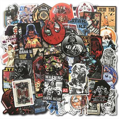50Pcs Star Wars Vinyl Stickers Bomb Graffiti Laptop Skateboard luggage Lot Cool