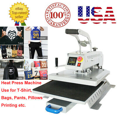New Swing Away 16x20 T-shirt Heat Press Machine 3d Sublimation Heat Transfer