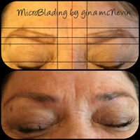 Semi Permanet Brow Tattooing