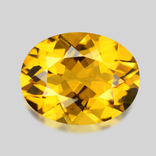 2.21cts GORGEOUS OVAL CUT NATURAL GOLDEN YELLOW BERYL HELIODOR WATCH VIDEO