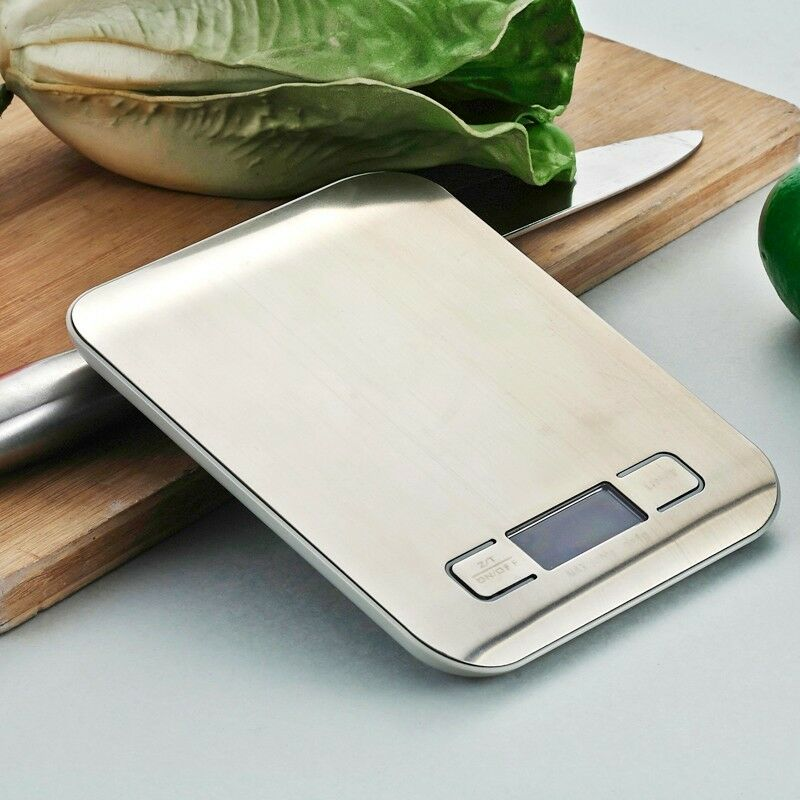LCD Digital Kitchen Scale 5Kg x 1g Weight Food Diet Halloween Cooking Tool With
