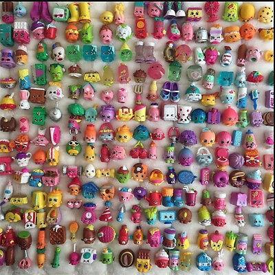 50PCs 2017 Random Shopkins of Season 1 2 3 4 5 6 Loose Toys Action Figure Doll