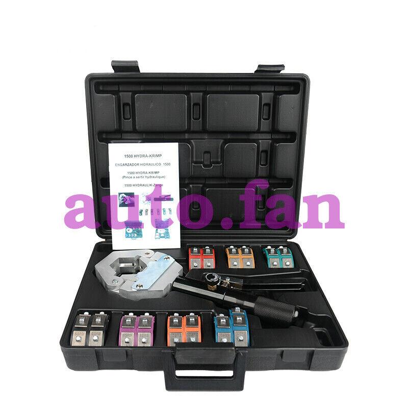 for FS-7842 Hydraulic Crimper Hose Crimper Auto A/C Hose Crimping Tools Kit