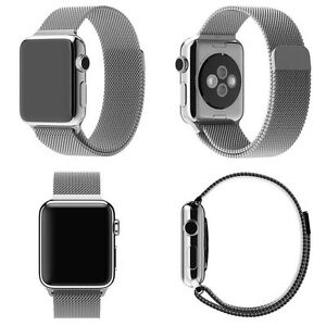 *Milanese Stainless Steel Apple Watch Strap Band