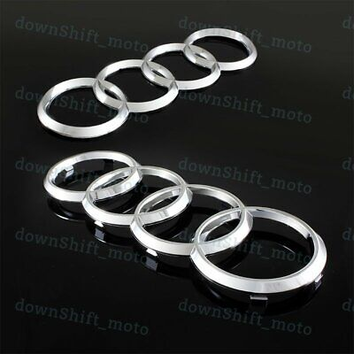NEW GENUINE AUDI A5 S5 A6 S6 A7 S7 REAR QUATTRO EMBLEM BADGE CHROME 4B0853737D