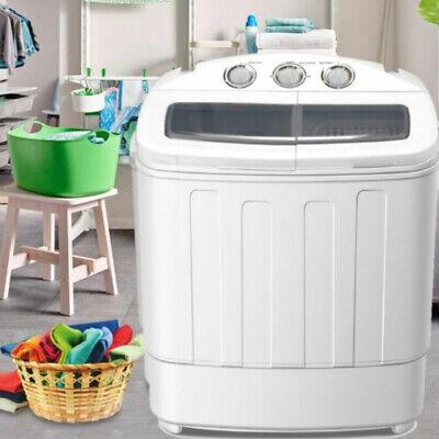 Mini Waschmaschine mit Schleuder Camping Wäschetrockner Trockner Waschautomat