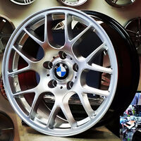 17 inch Hyper Silver Rims for BMW (4 New Rims) PH 9056732828