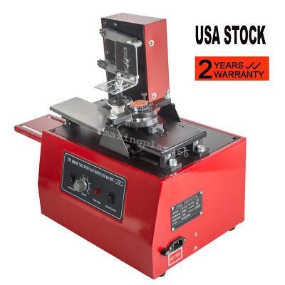 Electric Pad Printer Printing Machine T-shirt Inkprint Pvc Mug Ballpen Usa Ups