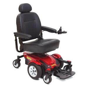 MOTORIZED WHEELCHAIR (RED)