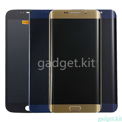 A+++For Samsung Galaxy S5 S6 S7 Edge LCD Display Screen Digitizer Assembly Frame