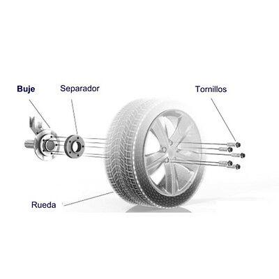 Separadores de rueda Doble Centraje 20mm 5X100 AUDI/SEAT/VOLKSWAGEN