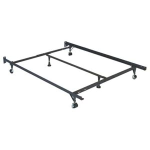 Metal queen sized bed frame