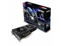AMD Radeon RX580 Sapphire Nitro+ 8gb Graphics Card