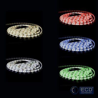 LED Leiste Stripe Streifen Band +Trafo Netzteil 1M - 30M 3528 SMD 60 LEDs/m