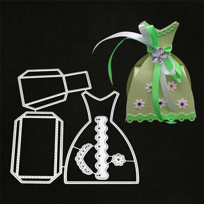 eid Box Schachtel Hochzeit Weihnachten Geburstag Geschenk (3d-kleid)