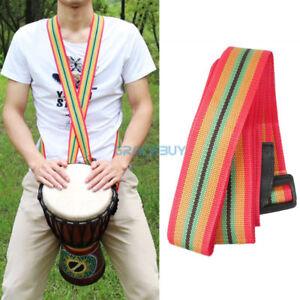 Nylon Adjustable Djembe Strap African Hand Drums Shoulder Straps Percussion Belt