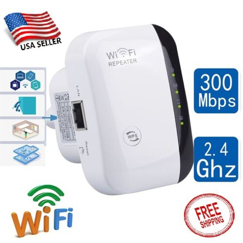 WIFI BLAST Wireless Repeater Wifi Signal Extender 300Mbps Amplifier Booster