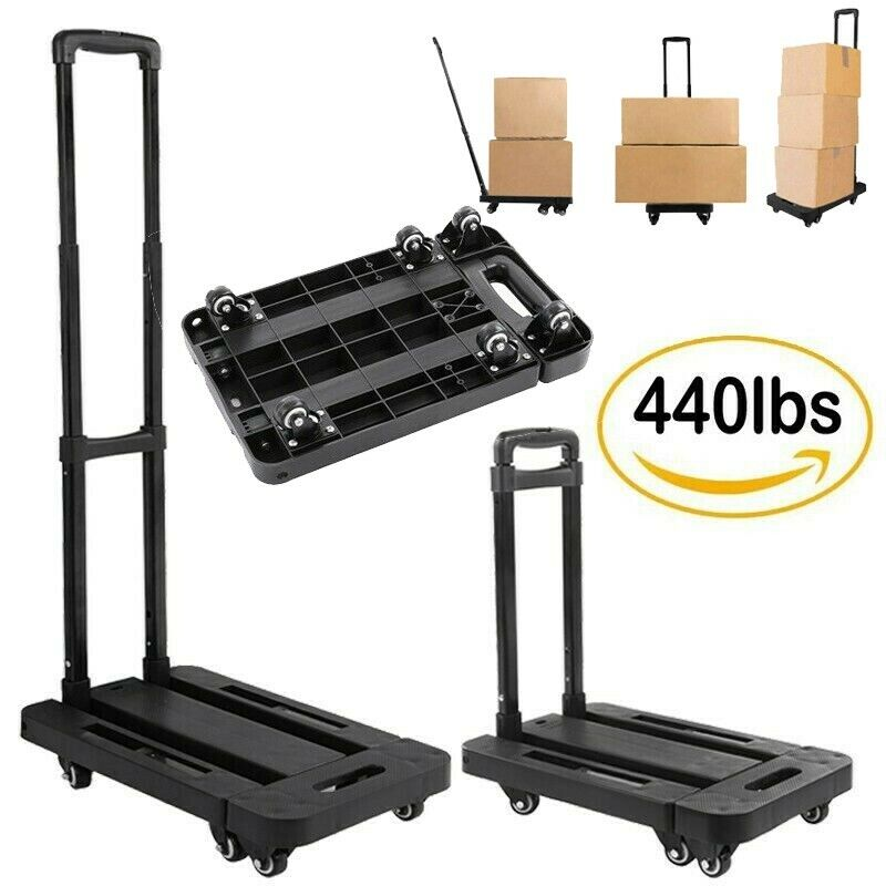 440lb Heavy Duty Moving Dolly Stair Climbing Hand Truck Ware