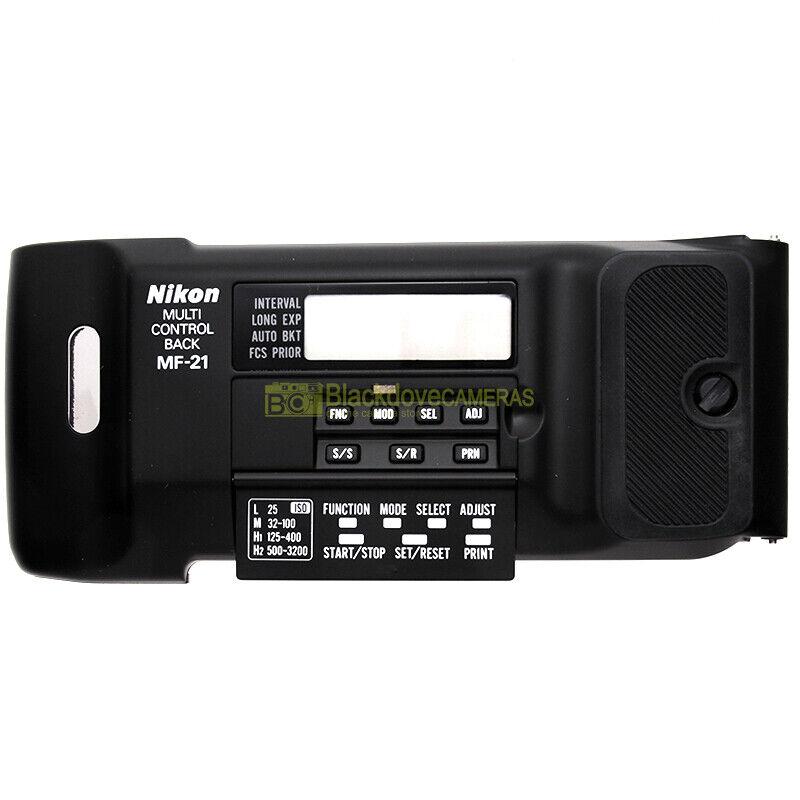 Nikon dorso data MF-21 per fotocamere F801, F801s, N8008, N8008s. MF21 Data back