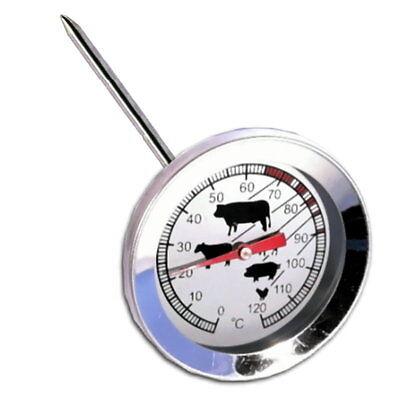 Edelstahl Bratenthermometer Fleischthermometer Braten zubereiten Fleisch Huhn
