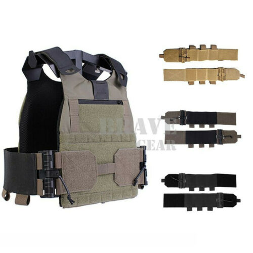 Tactical Quick Release Elastic Mag Carrier Cummerbund for Plate Carrier Vest